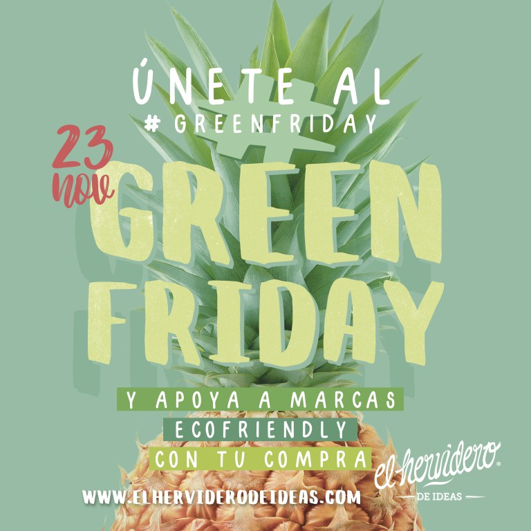 Green Friday, la alternativa de consumo responsable al Black Friday