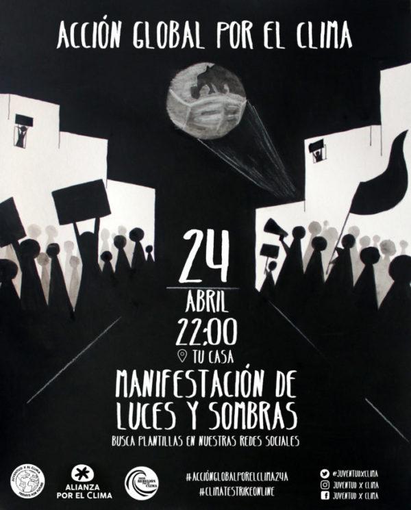 Súmate desde casa a la manifestación por el clima el próximo 24 de abril