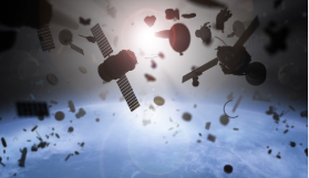 Satélites en colisión