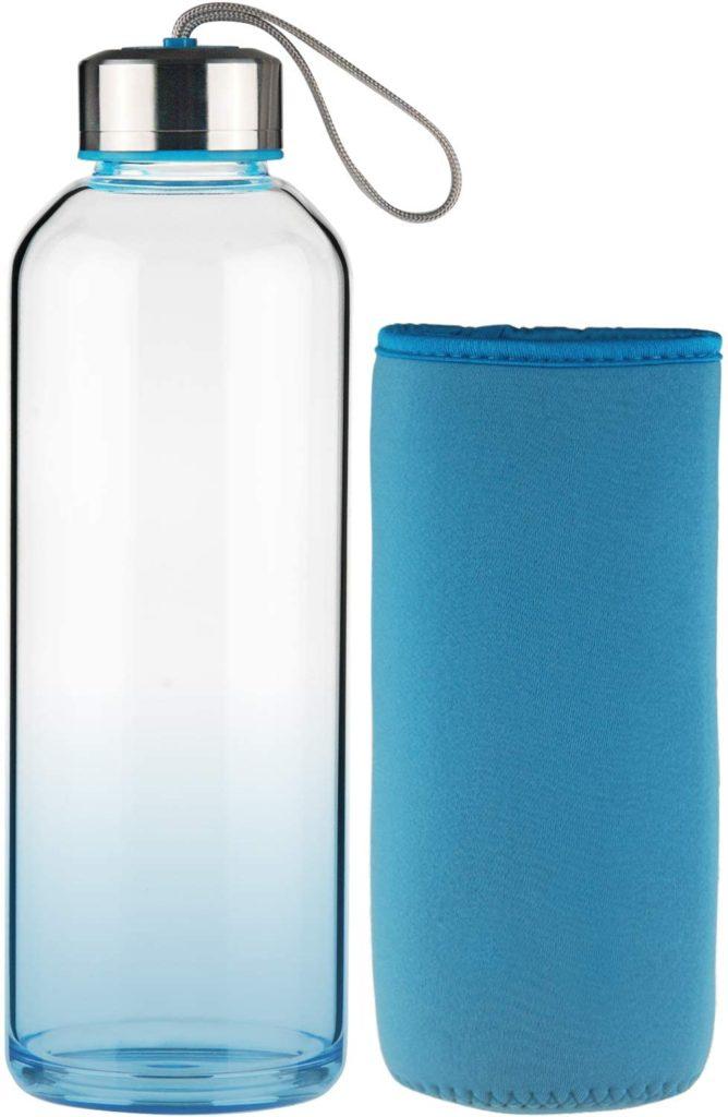 botella reutilizable vidrio