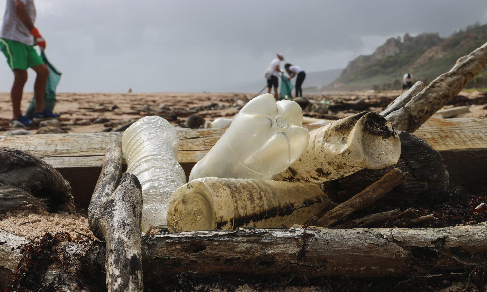 playa plasticos