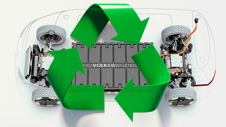 vokswagen bateria coche electrico